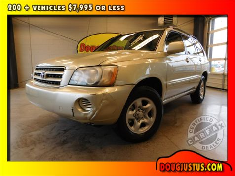 2003 Toyota Highlander  in Airport Motor Mile ( Metro Knoxville ), TN
