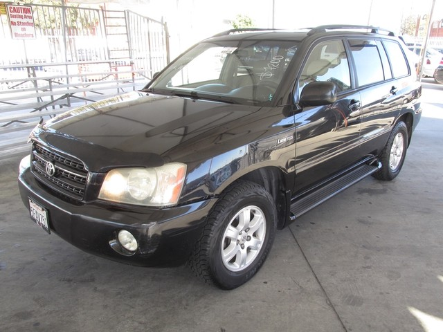 2003 Toyota Highlander Limited Please call or e-mail to check availability All of our vehicles