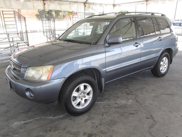 2003 Toyota Highlander Please call or e-mail to check availability All of our vehicles are avai