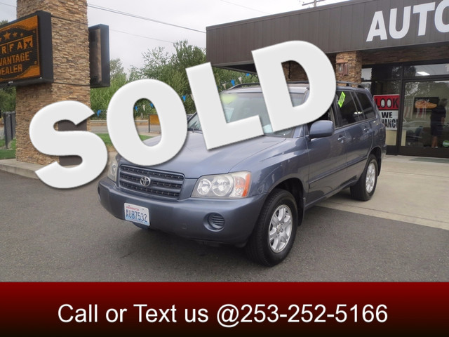 2003 Toyota Highlander 4WD The CARFAX Buy Back Guarantee that comes with this vehicle means that y