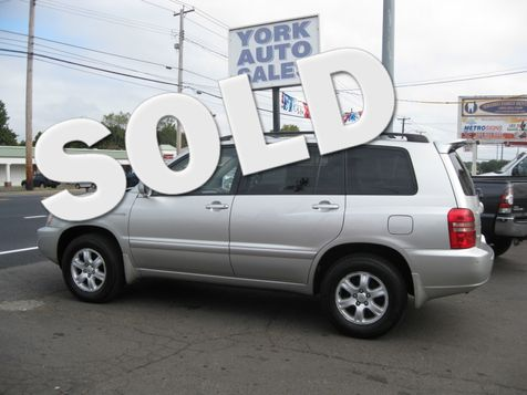 2003 Toyota Highlander Limited in , CT