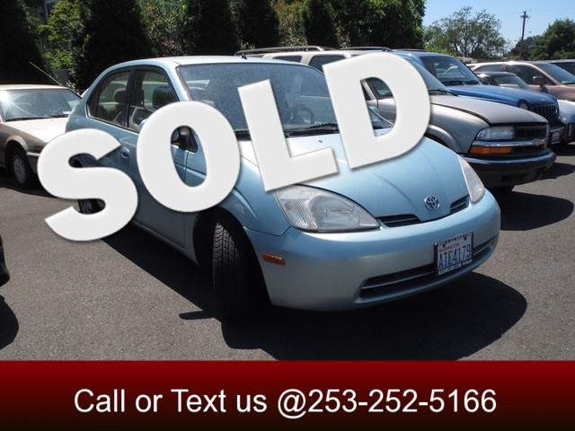 2003 Toyota Prius The CARFAX Buy Back Guarantee that comes with this vehicle means that you can bu