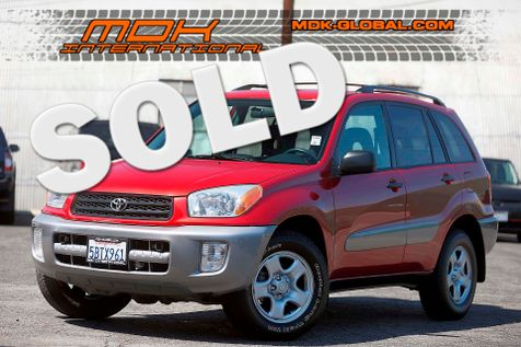 2003 Toyota RAV4 - Manual - 1 owner - service records in Los Angeles