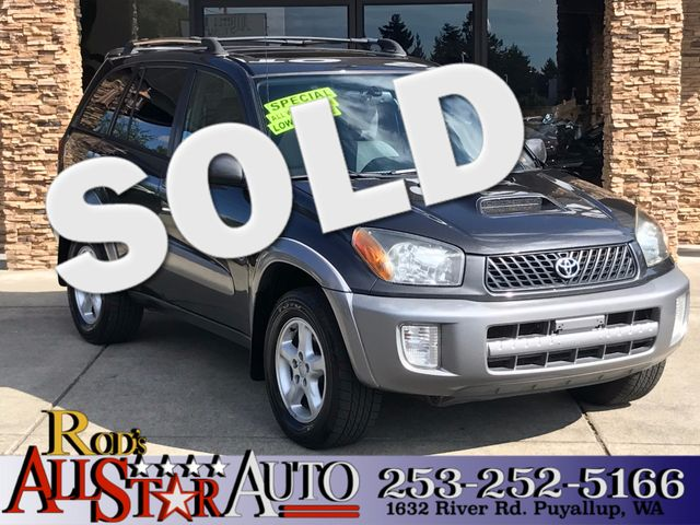 2003 Toyota RAV4 AWD The CARFAX Buy Back Guarantee that comes with this vehicle means that you can