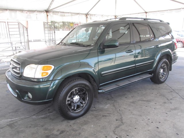 2003 Toyota Sequoia Limited Please call or e-mail to check availability All of our vehicles are