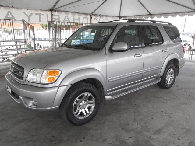 2003 Toyota Sequoia SR5 This particular Vehicle comes with 3rd Row Seat Please call or e-mail to