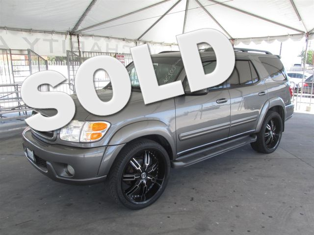 2003 Toyota Sequoia Limited This particular Vehicle comes with 3rd Row Seat Please call or e-mail
