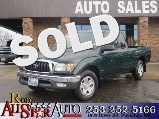 2003 Toyota Tacoma SR5 The CARFAX Buy Back Guarantee that comes with this vehicle means that you c