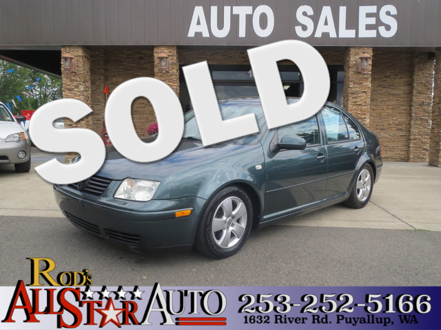 2003 Volkswagen Jetta GLS The CARFAX Buy Back Guarantee that comes with this vehicle means that yo