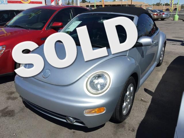 Used Cars in Las Vegas 2003 Volkswagen Beetle