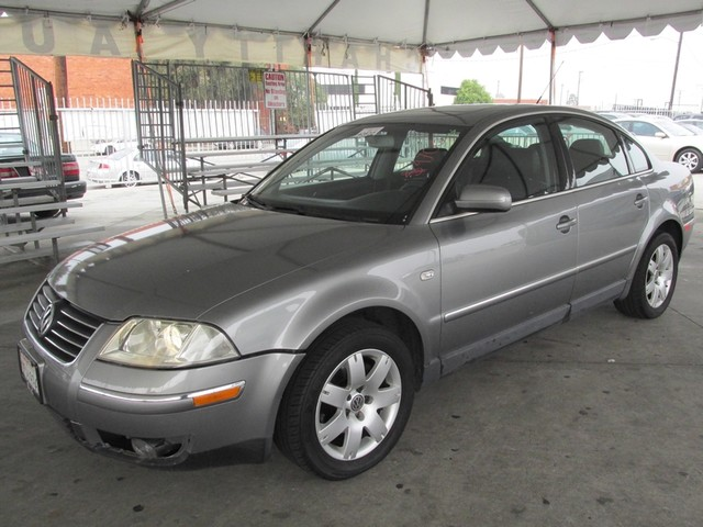 2003 Volkswagen Passat GLX Please call or e-mail to check availability All of our vehicles are a