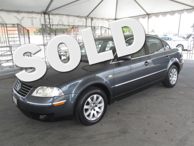 2003 Volkswagen Passat GLS Please call or e-mail to check availability All of our vehicles are