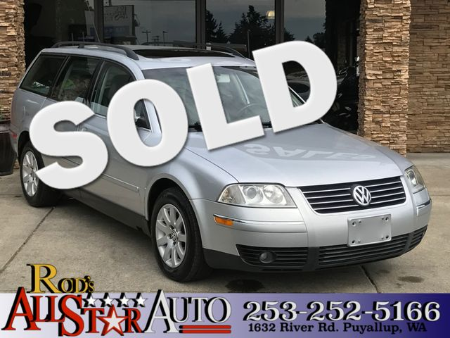 2003 Volkswagen Passat GLS The CARFAX Buy Back Guarantee that comes with this vehicle means that y
