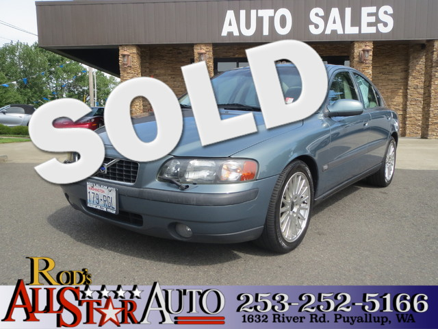 2003 Volvo S60 24L Turbo The CARFAX Buy Back Guarantee that comes with this vehicle means that yo