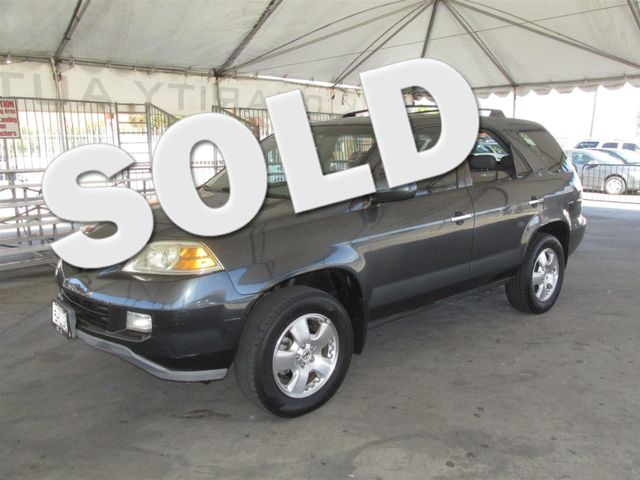 2004 Acura MDX This particular Vehicle comes with 3rd Row Seat Please call or e-mail to check ava
