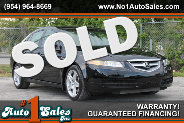 2004 Acura TL  WARRANTY CARFAX CERTIFIED AUTOCHECK CERTIFIED 1 OWNER 35 SERVICE RECORDS FL