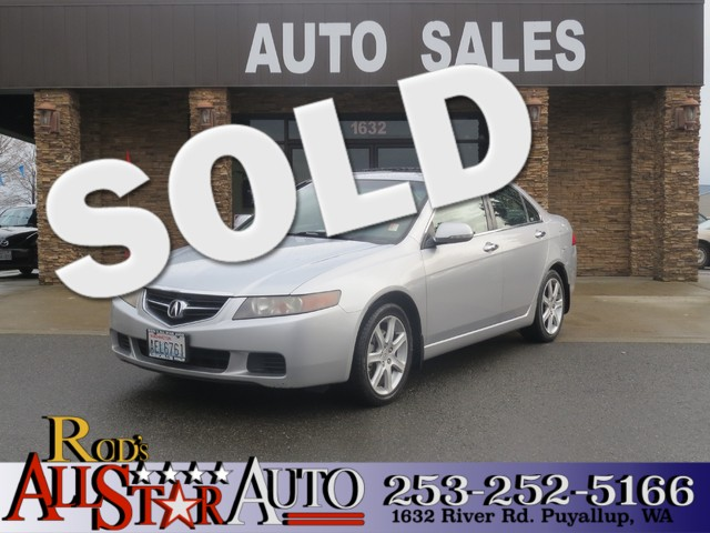 2004 Acura TSX wNavigation The CARFAX Buy Back Guarantee that comes with this vehicle means that
