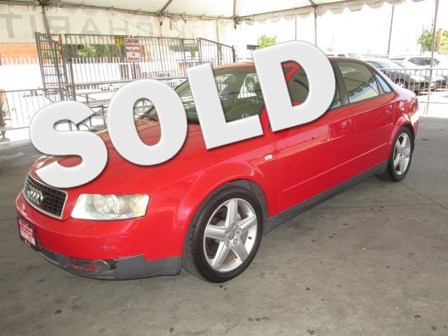 2004 Audi A4 18T Please call or e-mail to check availability All of our vehicles are available