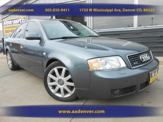 2004 Audi A6 Quattro 2.7T S-Line | Denver, CO | AA Automotive of Denver in Denver, Littleton, Englewood, Aurora, Lakewood, Morrison, Brighton, Fort Lupton, Longmont, Montbello, Commerece City CO