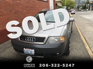 2004 Audi Allroad Quattro All Wheel Drive 2.7T Local History Heated Seats Bose Stereo Xenons Very Nice! Seattle, Washington