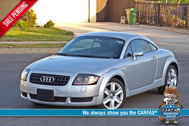 2004 Audi TT 1.8T COUPE AUTOMATIC ONLY 78K ORIGINAL MLS SERVICE RECORDS 1-OWNER Woodland Hills, CA 0