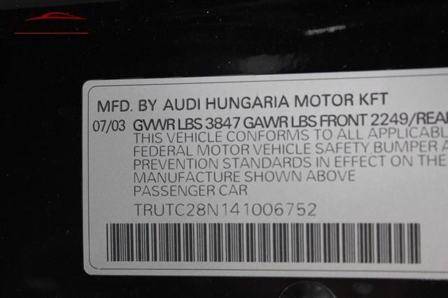 2004 Audi TT Merrillville, Indiana 44
