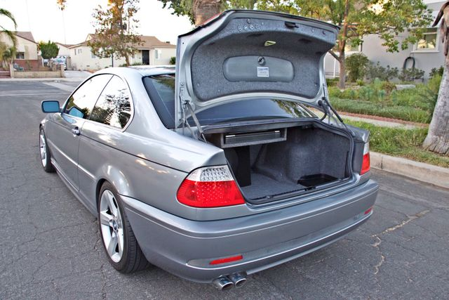 2004 BMW 325Ci COUPE SPORTS PKG AUTOMATIC  XENON NEW TIRES 1-OWNER SERVICE RECORDS Woodland Hills, CA 10