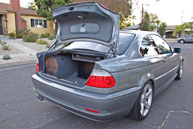 2004 BMW 325Ci COUPE SPORTS PKG AUTOMATIC  XENON NEW TIRES 1-OWNER SERVICE RECORDS Woodland Hills, CA 11