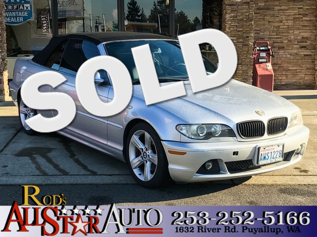 2004 BMW 325Ci The CARFAX Buy Back Guarantee that comes with this vehicle means that you can buy w