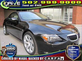 2004 BMW 645Ci 645Cic Convertible 2D | Louisville, Kentucky | iDrive Financial in Lousiville Kentucky