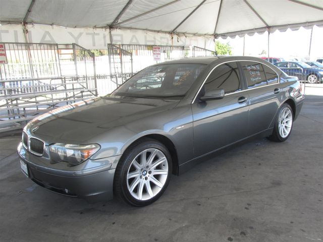 2004 BMW 745i Please call or e-mail to check availability All of our vehicles are available for