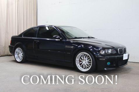 2004 BMW M3 Coupe w/Heated Seats, Moonroof, Premium Pkg, 18