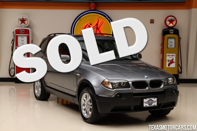 2004 BMW X3 25i This Clean Carfax 2004 BMW X3 25i is in great shape with only 95 582 miles The