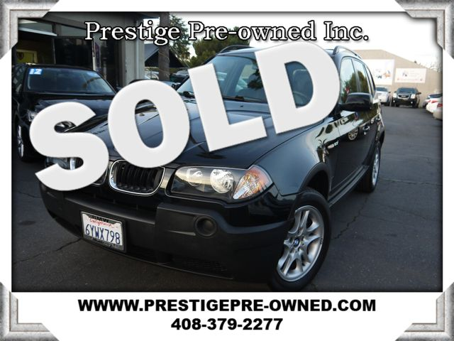 2004 BMW X3 2.5i ALL WHEEL DRIVE  in Campbell CA