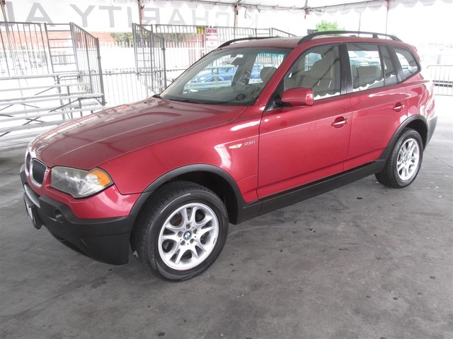 2004 BMW X3 25i Please call or e-mail to check availability All of our vehicles are available