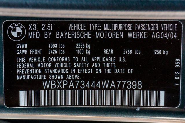 2004 BMW X3 2.5i Reseda, CA 36