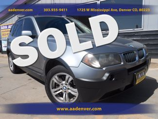 2004 BMW X3 3.0i 6 Speed 4x4 | Denver, CO | A&A Automotive of Denver in Denver, Littleton, Englewood, Aurora, Lakewood, Morrison, Brighton, Fort Lupton, Longmont, Montbello, Commerece City CO