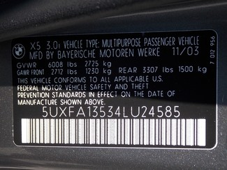 2004 BMW X5 PREMIUM AWD Virginia Beach , Virginia 15
