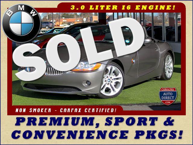 2004 BMW Z4 3.0i PREMIUM, SPORT & CONVENIENCE PKGS! Mooresville , NC 0