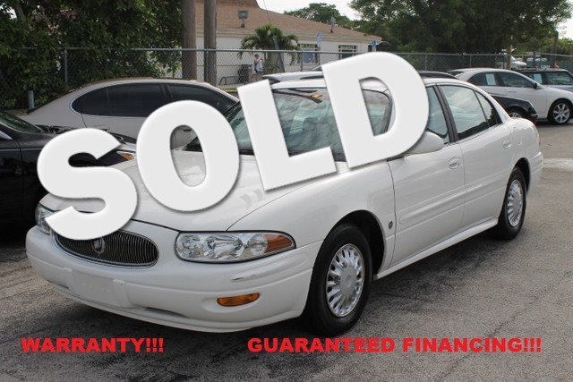 2004 Buick LeSabre Custom  WARRANTY CARFAX CERTIFIED AUTOCHECK CERTIFIED 1OWNER FLORIDA VEH