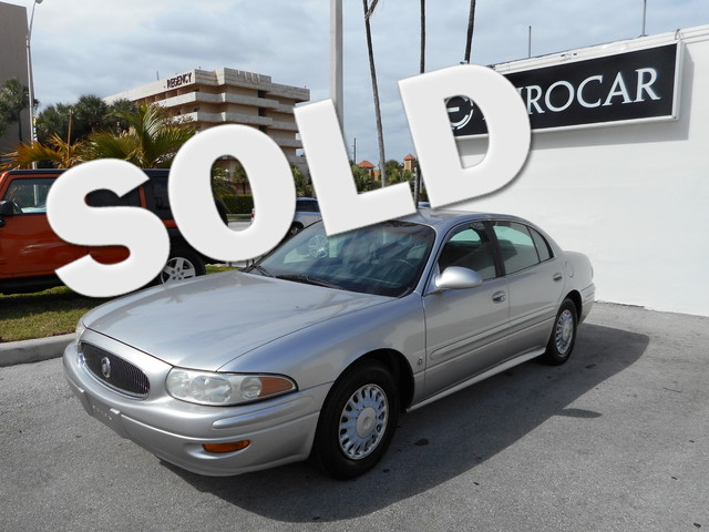 2004 Buick LeSabre Custom Come and visit us at wwweurocarmiamicom for our expanded inventory