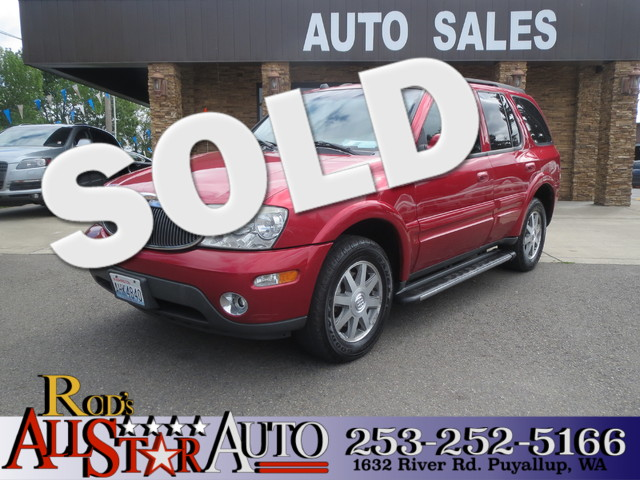2004 Buick Rainier CXL AWD The CARFAX Buy Back Guarantee that comes with this vehicle means that y
