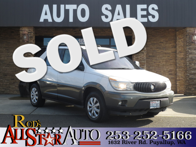 2004 Buick Rendezvous Its all in the details The service records that come with this Buick Rendez