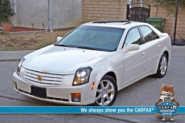 2004 Cadillac CTS AUTO 47K MLS XENON NEW TIRES ALLOY WHLS SUNROOF LEATHER SERVICE RECORDS! Woodland Hills, CA 0