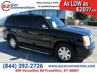2004 Cadillac Escalade LUXURY | Frankfort, KY | Ez Car Connection-Frankfort in Frankfort KY