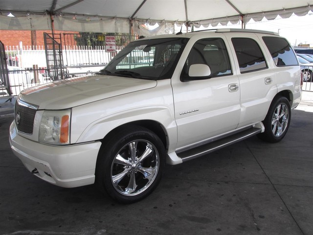 2004 Cadillac Escalade This particular Vehicle comes with 3rd Row Seat Please call or e-mail to c