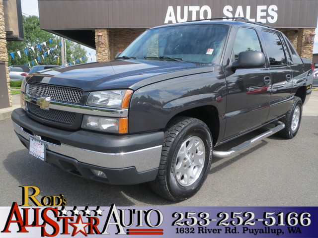 2004 Chevrolet Avalanche The CARFAX Buy Back Guarantee that comes with this vehicle means that you