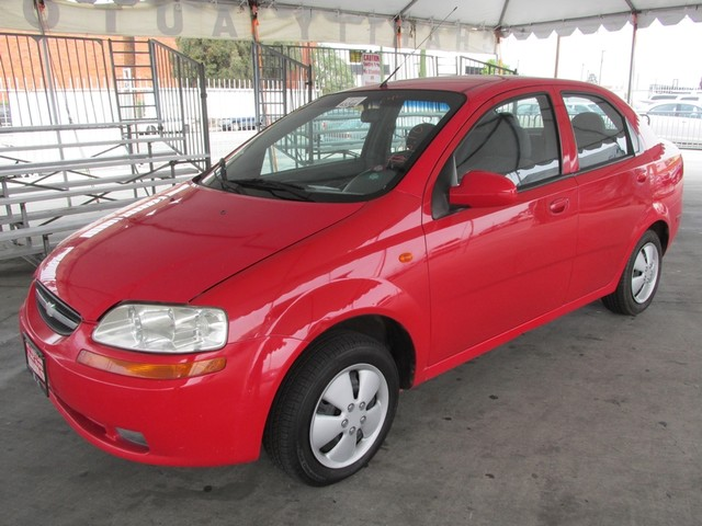 2004 Chevrolet Aveo Base Please call or e-mail to check availability All of our vehicles are ava