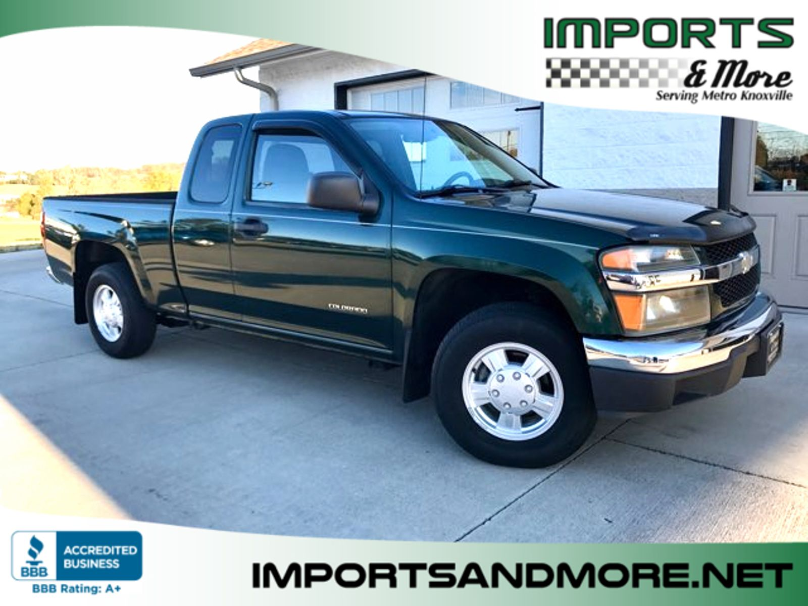 2004 chevrolet colorado ls extended cab imports and more inc