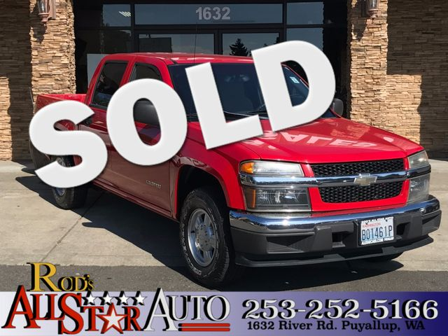 2004 Chevrolet Colorado 1SB LS Z85 The CARFAX Buy Back Guarantee that comes with this vehicle mean